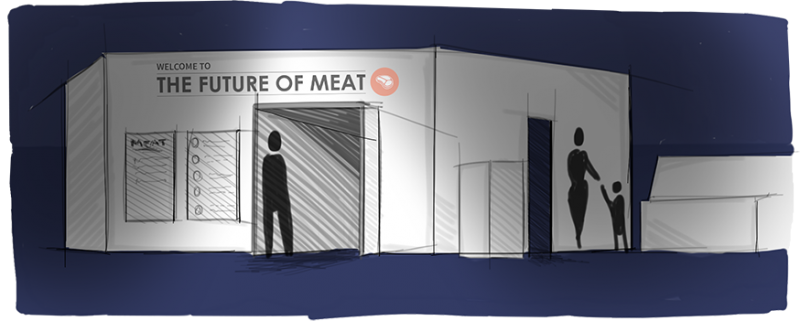 The Future of Meat - Installation Entrance